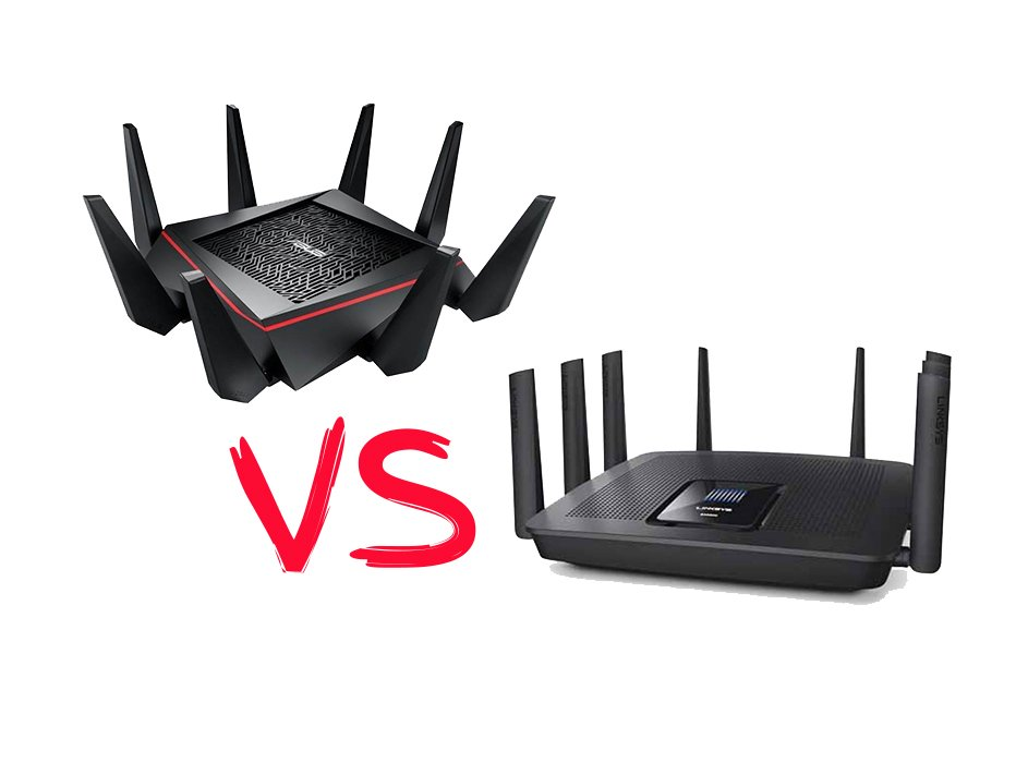 Linksys Ac5400 Vs Asus Ac5300