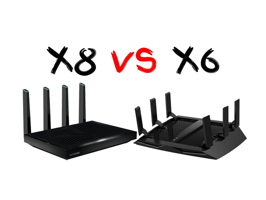 Netgear Nighthawk X6 Vs X8